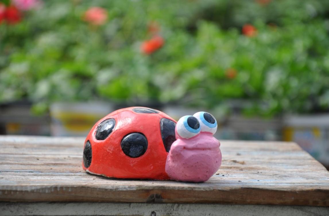 חיפושית בטון לגינה- משתלת מרמלשטיין